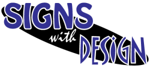 Signs with Design